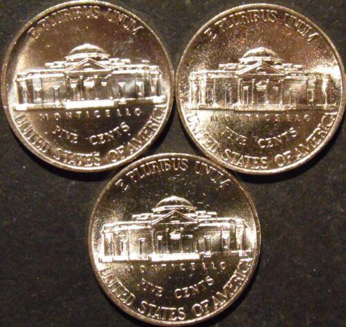 2000-D Jefferson Nickel Gem BU Uncirculated Full Steps Six Steps