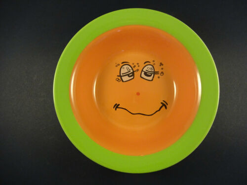 Trade Winds vaisselle orange /& green 16.5 cm Funny Face céréales//Dessert Bol
