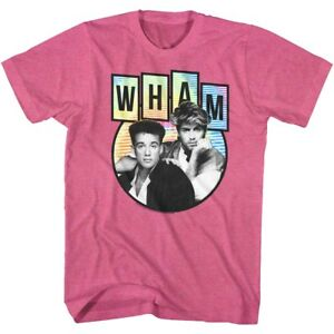 Wham-Duo-Photo-Adult-T-Shirt-Pop-Music