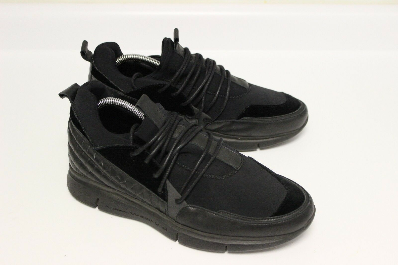 ANDROID HOMME RUNYON MENS BLACK RUNNING SNEAKERS SIZE 10