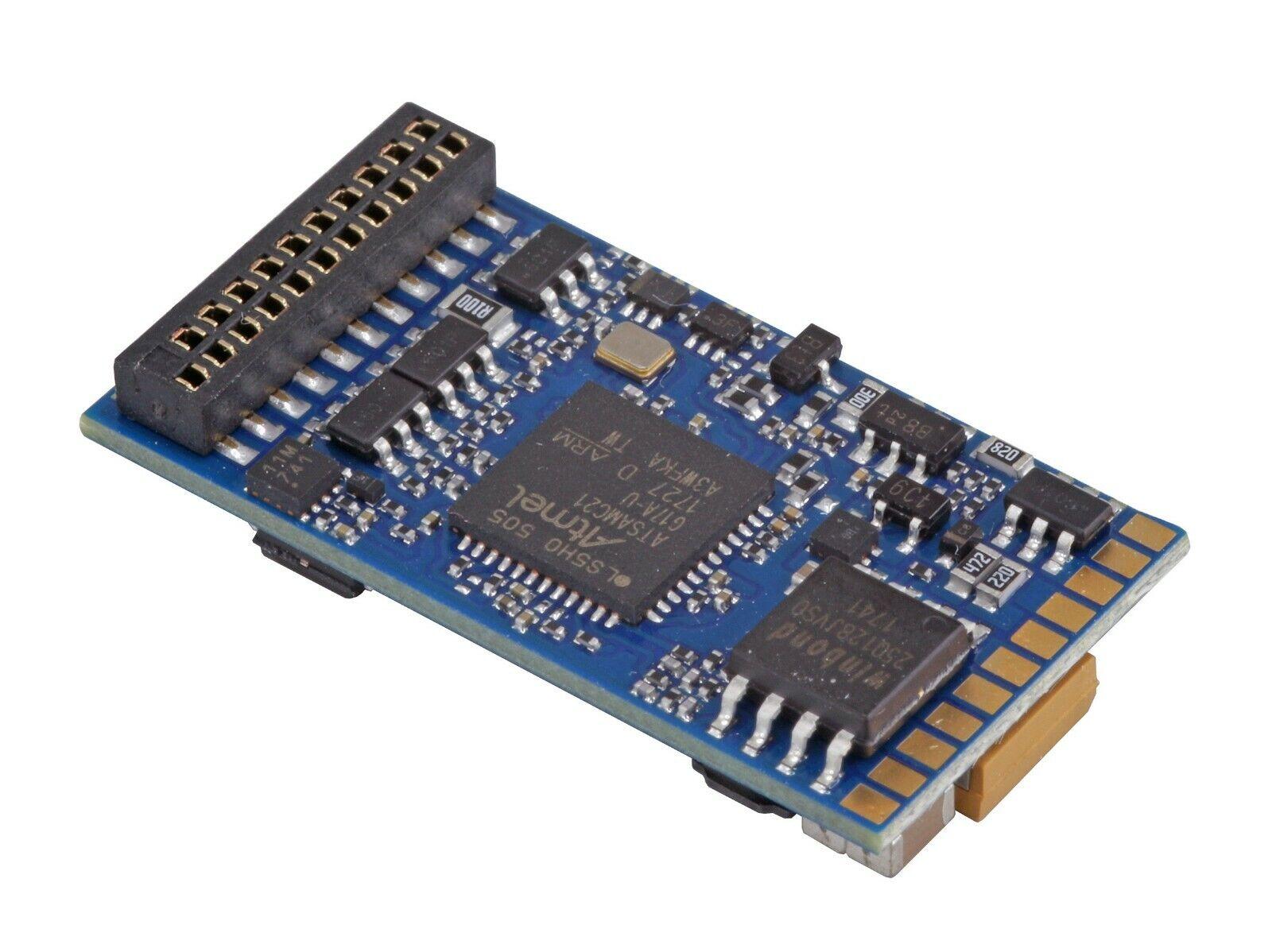 ESU 58419 LokSound V5.0 DCC MM SX SX SX M4 21 MTC Pin Sound Decoder  With Sugar Cube b79254