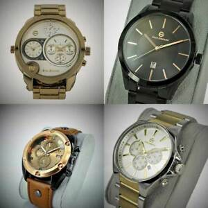 New Wrist Watch Enzo Giomani multi function luxury Analog stainless steel gift