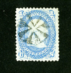 US-Stamps-92-VF-Fancy-Cancel-Fresh-Scott-Value-450-00