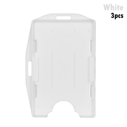 Case Multi-use Badge ID Card Pouch Card Sleeve Name Card Work Card Holders
