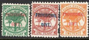 Samoa-1899-Provisional-part-set-perf-11-mint-SG90-91-92-3