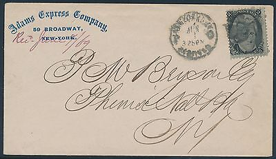 #93 ON ADAMS EXPRESS COMPANY COVER BR5914