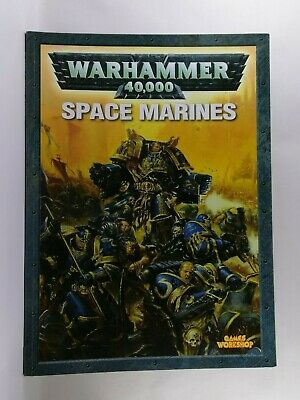 Energico Codex: Space Marine-warhammer 40,000 Libro-games Workshop-mostra Il Titolo Originale