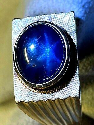 Dragons breath star sapphire gold mens ring size 11 organon google books
