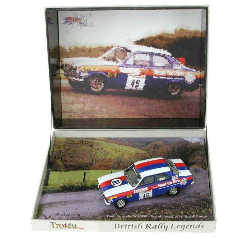 bajo precio del 40% Trofeu BRL09 Ford Ford Ford Escort Mk I RS2000 Tour De Gran Bretaña 1974-R Brookes escala 1 43  caliente