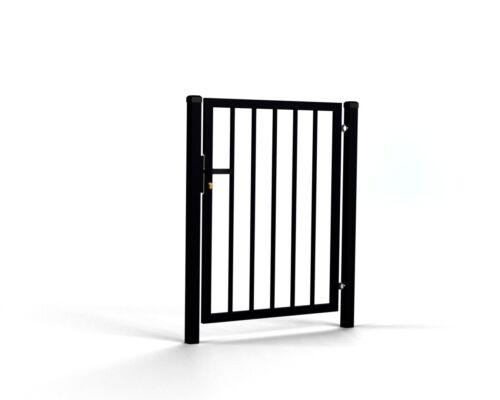 Eingangstor Tore Pforte mit Profile 20x20 mm Gartentor Toranlage 1630-2030mm RAL