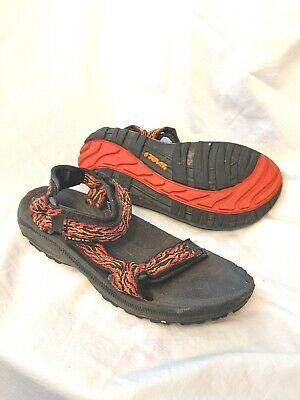 Teva Strappy Youth Kids Outdoor Sport Sandals 6294 Orange Boys Girls Sz 3  Eu 33 | eBay