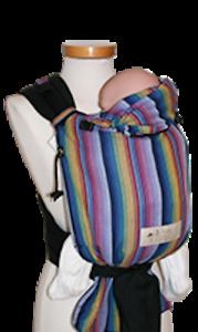 Storchenwiege-Half-Buckle-Baby-Carrier-Inka