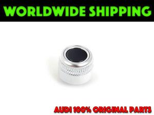 NEW OEM Genuine Volume Control Rotary Knob AUDI Q5 A4 S4 B8 A5 RS4 RS5 2008