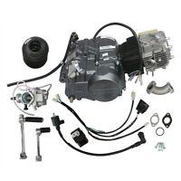 140cc Lifan Engine Motor 4 Up Kick Start 4 Speed W/ Carb For Dirt Pit Bike Zu