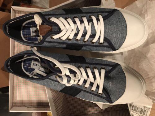 Ben Sherman Men/'s Sneakers Eddie Low-top Navy Blue cap toe