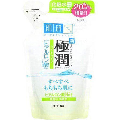 Rohto Hada Labo Super Hyaluronic Acid Moisturizing Skin Lotion Light Refill170ml