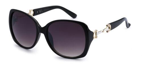 Designer VG Womens Vintage Butterfly Oversized Oval Sunglasses Soft Bag #dg12