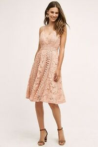 Anthropologie-Astrid-Dress-Size-0-By-HD-In-Paris-Pink-MSRP-178-New