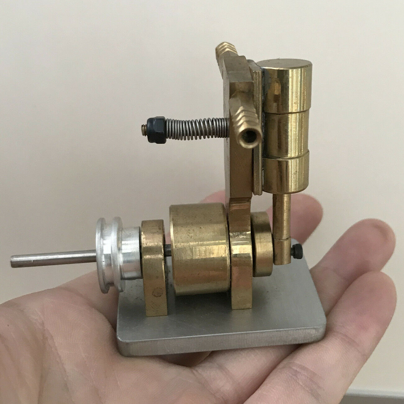 New greenical Cylinder Steam Engine Model Toy DIY Marine Model Motor Power Kit