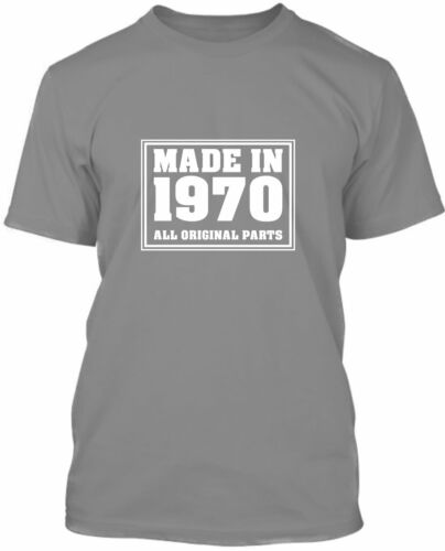 Made In 1970-50th Anniversaire T-Shirt 2020 Qualité Premium cadeau