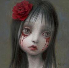 Mark Ryden Blood Book Rose Tears Second Ed Bookmark Art Spread Love No Hate