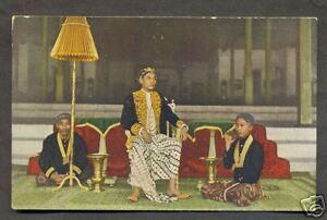 Prince Pakoe Alam Royalty Costume Java Indonesia 20s