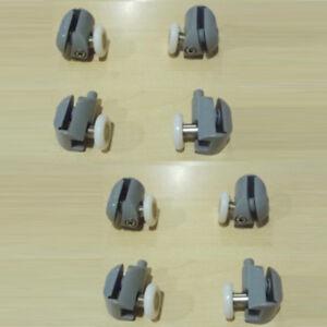 8 cuscinetti ruote rotelline ricambi per porta anta box for Ricambi box doccia cuscinetti