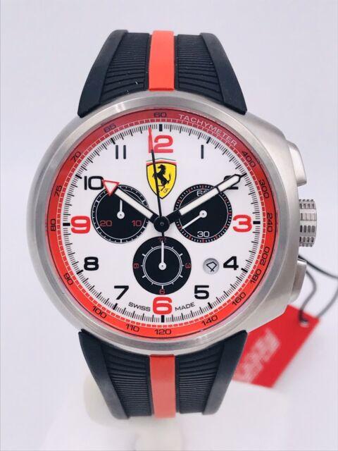 Watch Scuderia Ferrari Chrono Swiss Made FE10AWK/455 44mm on sale New