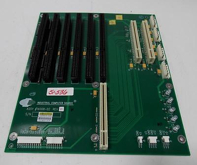 P//N 14008-02 REV B INDUSTRIAL COMPUTER SOURCE BACKPLANE ASSY 14008-02 REV D