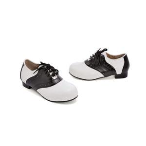 Kids Halloween 50's Saddle Shoes | eBay