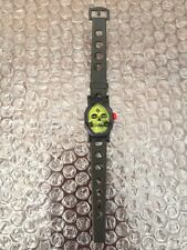 Mattel 1985 HE MAN MASTERS OF THE UNIVERSE  Skeletor KIDS TOY WATCH Rare-Spain