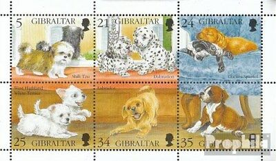 Never Hinged 1996 P Beneficial To The Sperm Unmounted Mint complete Issue Sunny Gibraltar 749-754 Sheetlet