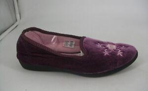 Eu 38 Full 05 Slippers Js091 Ab 5 Purple Uk Back Ladies Sqf6WCY