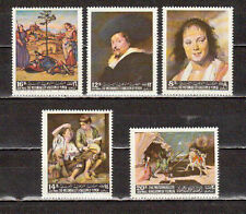 STAMPS YEMEN ART PAINTINGS RAPHAEL,RUBENS,HALS,UCCELLO,MURILLO. MNH