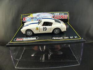 Jouef-Evolution-Legende-n-1012-Ferrari-250-GT-61-n-19-neuf-en-boite-1-43-MIB