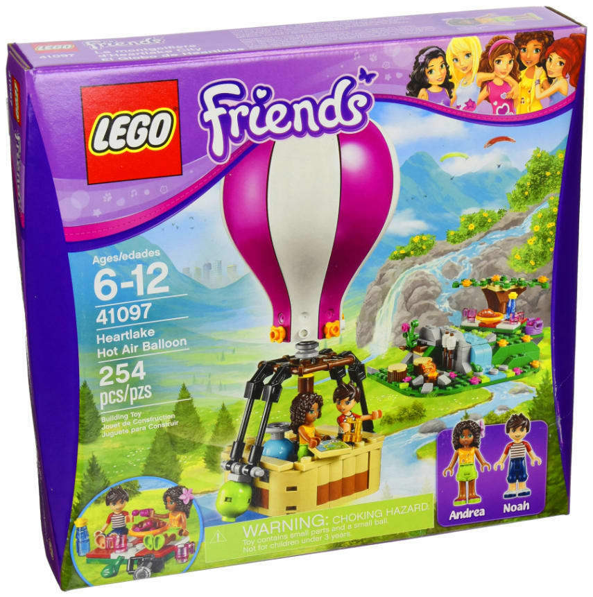 LEGO Friends Heartlake Heartlake Heartlake Hot Air Balloon NEW ca18a2