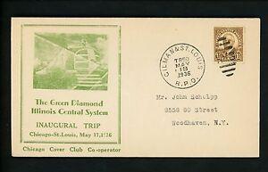 US-Postal-History-Railroad-Train-Companies-Illinois-Central-1936-Gilman-RPO