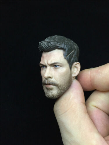 1//6 Scale Thor Raytheon Head Sculpt Model The Avengers Fit Action Figure Body