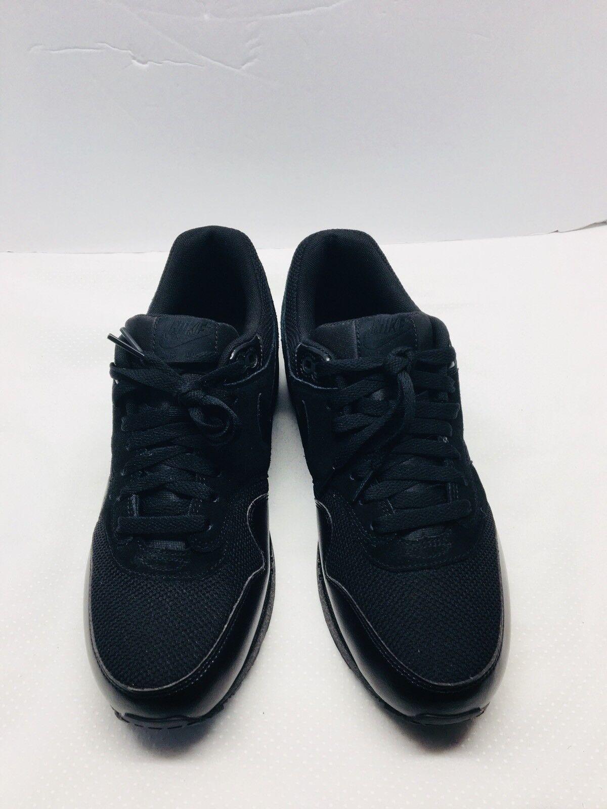 Nike air max 1 essenziale nero / nero 537383-020 uomini sz