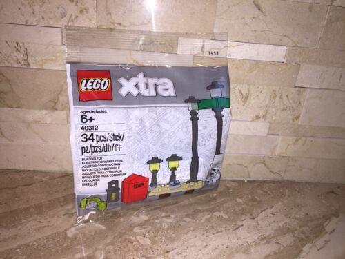 LEGO XTRA STREET LIGHTS SET 40312