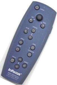 Genuine InFocus Interlink 551-0053-01 Projector Remote For X1 LP240 LP250