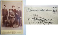 Giessen - Burschenschaft Frankonia - 1890/91 - Wilhelm Schwinn KAB / Studentika