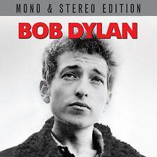 BOB DYLAN ~ CLASSIC DEBUT ALBUM IN MONO + STEREO NEW 2CD + BONUS TRACKS