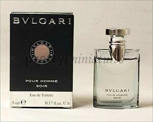 ღ Pour Homme Soir - Bvlgari - Miniatur EDT 5ml