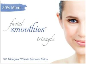 FACIAL-SMOOTHIES-TRIANGLE-108-Wrinkle-Remover-Strips-Wrinkle-Patches