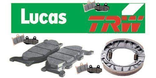 Trw plaquette de frein HONDA CBR 1000 F Dual CBS sc24 BJ 93-01 l/'avant