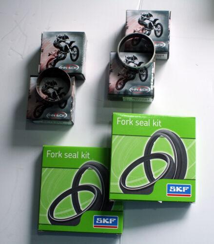 SKF Fork Service Kit Bushings /& Single Lip Seals 2006-2012 Kawasaki KXF250