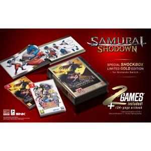 Samurai-Shodown-Shockbox-Gold-Edition-Nintendo-Switch-Pix-N-Love-Limited-Run-New