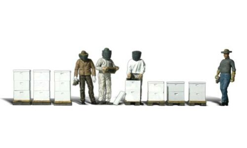 H0 Woodland Scenics A1897 Figuren-Set Imker neu