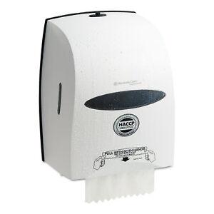 KIMBERLY CLARK Windows Sanitouch Roll Towel Dispenser 12 63/100w x 10 1/5d x 16